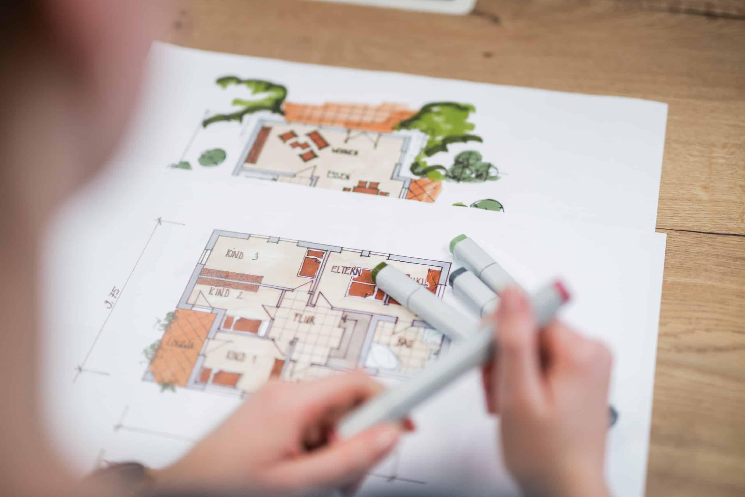 Kosten Architekt Bauantrag stellen